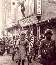 """Japanese Army in Manchuria. Courtesy of Wikimedia Commons. """"Japan's Bigger Game"""" l WWII Blog"""