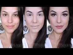 Makeup Dourada Glamour! - YouTube