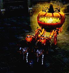 Halloween in Aion game  [할로윈] BGM주의+ 패키지 뽐내기 결의♥결아 커플 호박 - 이미지 : plaync 아이온