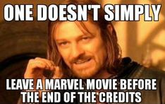 How can u leave the movie! :( should I put this in the avengers or lord of the rings?
