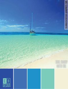 Sail Away With Me | Color Blocks Design