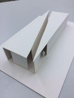Geometric Architectural Models Landscape Architecture Geometric architectural m. Conceptual Model Architecture, Maquette Architecture, Architecture Model Making, Model Building, Tropical Architecture, Landscape Architecture, Architecture Design, Architecture Geometric, Light Architecture