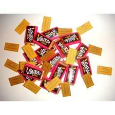 NOVELTY WILLY WONKA BAR KIDS CHILDRENS CHOCOLATE PARTY BAG FILLERS: Amazon.co.uk: Grocery