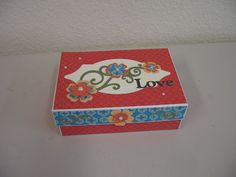 Stella Card Box -- Workshop for Mothers Day.
