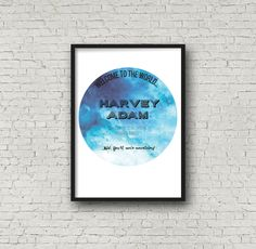 Custom {Birth Announcement} Wall Print by Printce on Etsy