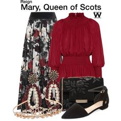 Inspired by Adelaide Kane as Mary, Queen of Scots on Reign