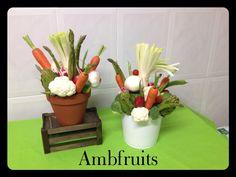 Centros con verduras