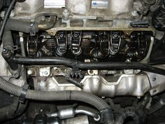 inside of 3400 engine valley when leaking coolant cars picture of the push rod location on the and gm engine used in chevy pontiac oldsmobile and buick