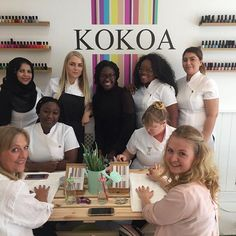 Great to meet the team @kokoauk on Friday night   Kokoa is a new #ecofriendly beauty bar - #organic and #vegan   Great addition to #altrincham - you can find them on The Downs