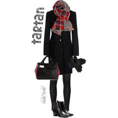 """Tartan"" by slavka12 on Polyvore"