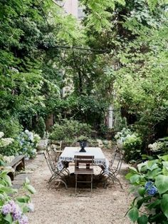 What is a secret garden? It's a little spot tucked away in the back corner of the yard. It's a place where you'll be able to retreat, to sit in the quietude of the summer evenings… #GardeningIdeas