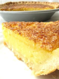 Lemon Chess Pie: lemon lovers unite!: King Arthur Flour