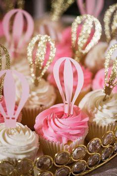 Gorgeous Hot Air Balloon 1st Birthday Party!