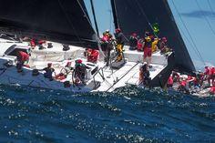 Rolex Sydney Hobart Action: Day One - Rolex Sydney Hobart Yacht Race 2014