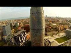 imagenes ineditas de un drone en barcelona
