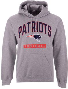 Authentic Nfl Apparel Men New England Patriots Gym Class Hoodie ecae98ded