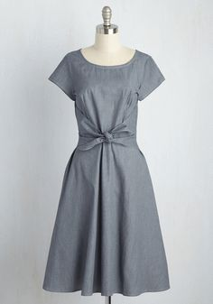 Simple 1940s day dress $79.99 AT vintagedancer.com
