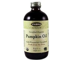With natural beauty and wellness mavens raving about its benefits, pumpkin seed oil is carving out a spot on the kitchen-to-beauty scene. Here are 7 ways to use it. Essential Oils For Rosacea, Essential Oil Carrier Oils, Are Essential Oils Safe, Coconut Oil Uses, Coconut Oil For Skin, Natural Oils, Natural Beauty, Pumpkin Seed Oil