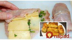 Recept na vynikajúce kuracie rolky s kyslou smotanou– luxusný obed za 30 minút: Mäsko šťavnaté a krehké ako od šéfkuchára! 4 Ingredients, Chicken, Meat, Food, Meal, Essen, Cubs