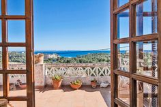 Potential apartment with stunning sea view in Gènova #mallorca #apartment #realestate #palma #property