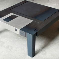 Oh so you're into vintage tech? This is some awesome nerdy furniture right here.