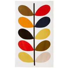 Orla Kiely Towel - would look amazing in a white bathroom!
