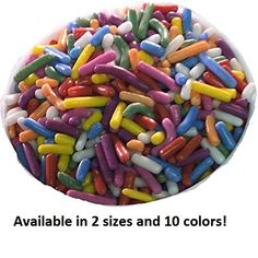 Oasis Supply Naturally Brilliant Sprinkles, Naturally Colored, 100% Pure Cane Sugar