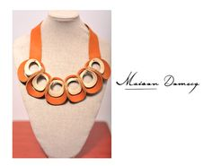 Collar/Necklace AMARAK CLARO #shine #style #fashion #collection #leather #maisondomecq #woman