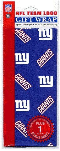 3d6fd0ec917 New York Giants Wrapping Paper Paper News