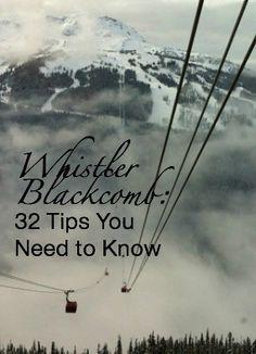 "The Peak 2 Peak Gondola runs from Whistler Mountain to Blackcomb Mountain. ""Solo At Whistler Blackcomb: 32 Tips You Need to Know"" http://solotravelerblog.com/solo-at-whistler-blackcomb-32-tips/"