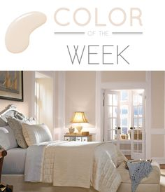 designmeetstyle: Color of the Week: Behr Marquee Loft Light A serene neutral can add softness to a room, and that's why we love our color of the week, Loft Light. We also love that with Behr Marquee paint, one coat coverage is guaranteed, so if you're trying to cover a bold wall, you can do it in one swipe.