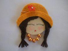 Estas bonequinhas super charmosas foram feitas com base em CD´s. Não tem pap mas não é dificil fazer, usando um cd como molde principal, dá ...