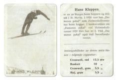 Hans Kleppen skihopper Il Skarphedin skihopper bronse i VM 1929 Zakopane
