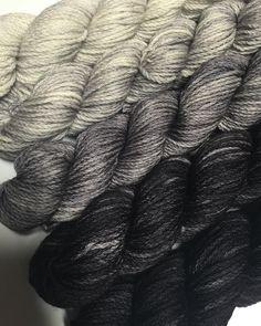 50 shades of Grey - Koigu Kersti K2401 K2403  K2405 K2409 K2400 #koigukersti #merinowool #makeitkoigu #koigu