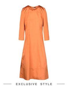 MARNI Knee-length dress. #marni #cloth #dress #top #skirt #pant #coat #jacket #jecket #beachwear #