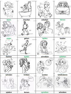 VERBEN (1) | Deutsch lernen