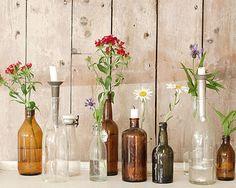 Creatief met glazen potten