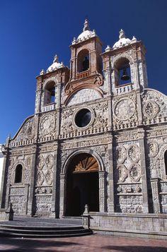 Cathedral of Riobamba, Ecuador by John Warburton-Lee