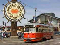 Fisherman's Wharf - remember walking along the wharf when we were visiting to see if my daughter wanted to go to San Francisco State...