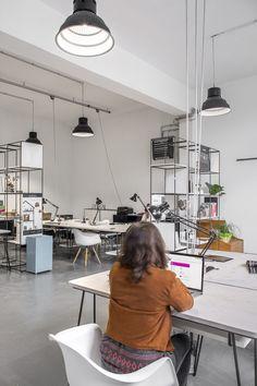 Our Studio, Milano Industrial Loft, Studio, Track Lighting, Ceiling Lights, Home Decor, Decoration Home, Industrial Loft Apartment, Room Decor, Studios