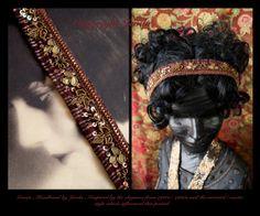 Flapper Headband/Art Deco Headband/Roaring Headband/Boho by Jevda, $24.00