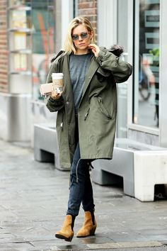 5 New Ways to Style Your Parka This Winter via @WhoWhatWear