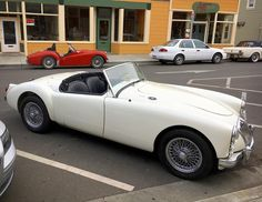 What a great shape! #mg #mga #californiamelee #vintagerally #sportscaradventures