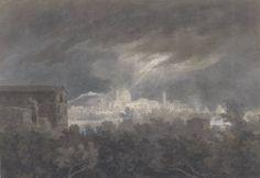 John Robert Cozens, 'Padua' after 1782