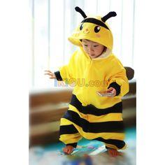 Bee Onesie   Bee Baby Kigurumi   Bee Baby Costume - Baby Onesies  http://www.ikigu.com/bee-baby-kigurumi.html