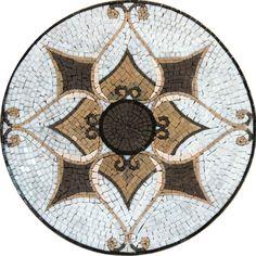 Mosaic Tile Art Medallion - Tangiers