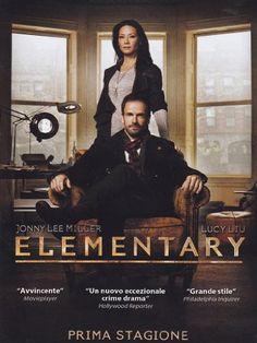 Elementary - Die komplette Staffel 1 (EU-Import mit deutscher Tonspur) [6 DVDs] [DVD] [2014]