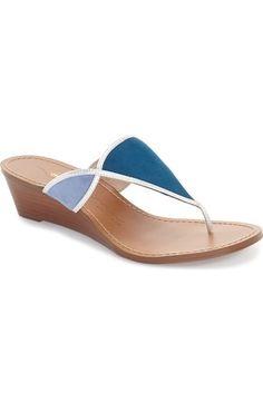 Nina Originals 'Virginia' Wedge Slide Sandal (Women) available at Flat Sandals, Slide Sandals, Women's Shoes Sandals, Flats, Soft Suede, T Strap, Sunnies, Flip Flops, Nordstrom