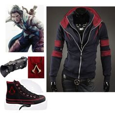 The Destined Hoodie by geekhoodies on Polyvore featuring Converse, jacket and outfits. Shop Now! LOVE THAT JACKET