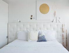 Met een gecapitonneerd hoofdeinde maak je van je bed het pronkstuk van de slaapkamer.
